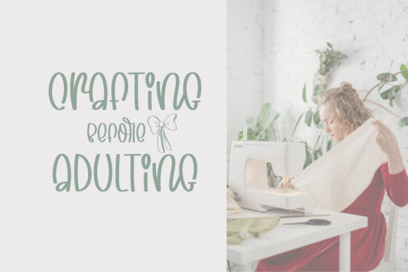 Print on Demand: Playful Crafter Display Font By BitongType - Image 8