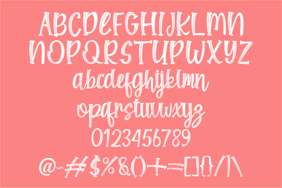 Print on Demand: Shine Bloom Display Font By Rvandtype - Image 8