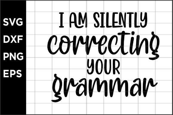 Silently Correcting Your Grammar Graphic Crafts By spoonyprint