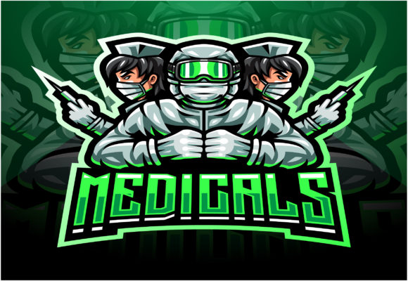 The Medicals Esport Mascot Logo Graphic Illustrations By visink.art
