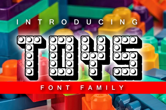 Print on Demand: Toys Decorative Font By vladimirnikolic