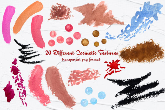 Watercolor Make Up ClipArt Graphic Illustrations By BarvArt - Image 3