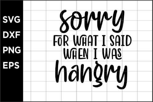 When I Was Hangry Graphic Crafts By spoonyprint