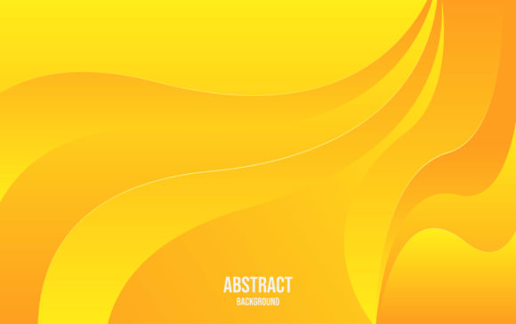 Abstract Yellow Background. Graphic Backgrounds By ngabeivector