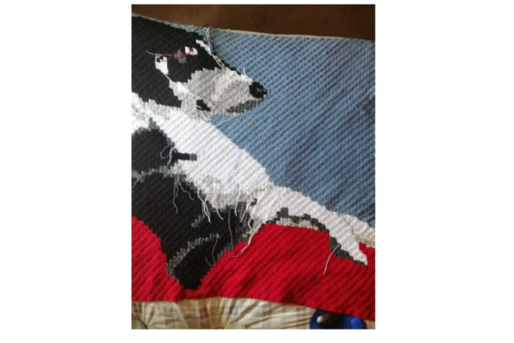 Jack Russel 2 Graphic Crochet Patterns By Katrina Oldham