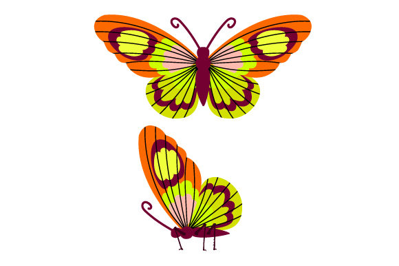 Butterfly Animals Craft Cut File By Creative Fabrica Crafts