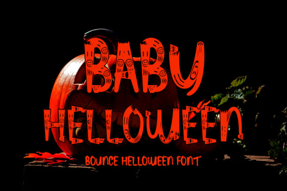 Print on Demand: Baby Helloween Display Font By ONE DESIGN