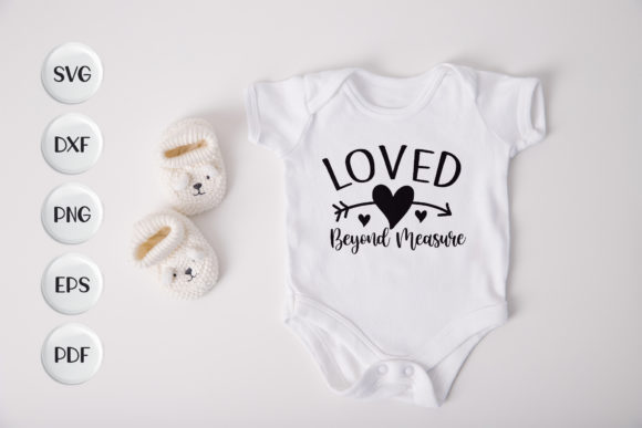 Baby, Love Beyond Measure Graphic Crafts By CraftlabSVG