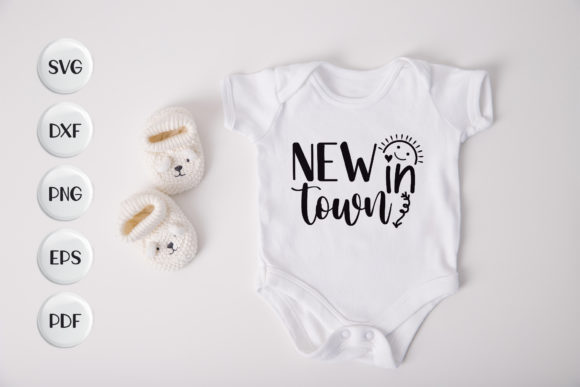 Baby, New in Town Graphic Crafts By CraftlabSVG