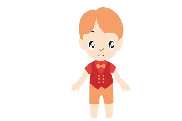 Boy Chibi Character Vector 19 Graphic Illustrations By harunikaart