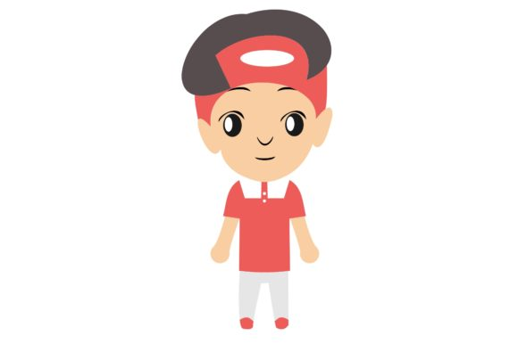 Boy Chibi Character Vector 20 Graphic Illustrations By harunikaart