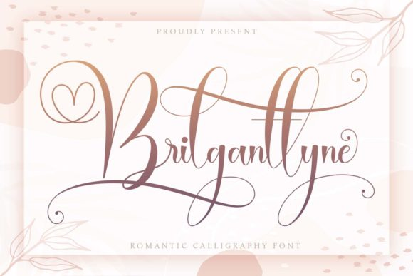 Print on Demand: Brilganttyne Script & Handwritten Font By Naharstd - Image 1