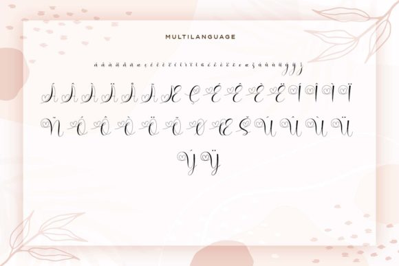Print on Demand: Brilganttyne Script & Handwritten Font By Naharstd - Image 11