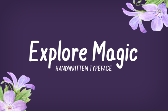Print on Demand: Explore Magic Display Font By Imposing Fonts