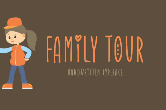 Print on Demand: Family Tour Display Font By Imposing Fonts