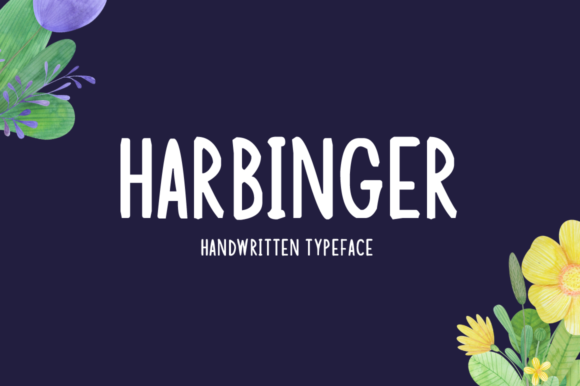 Print on Demand: Harbinger Display Font By Imposing Fonts