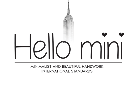 Print on Demand: Hello Mini Script & Handwritten Font By andikastudio