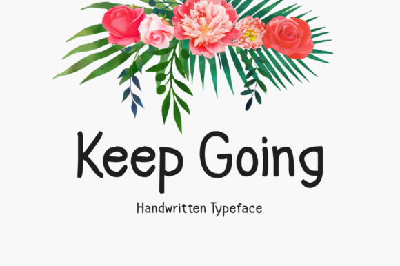 Print on Demand: Keep Going Display Font By Imposing Fonts