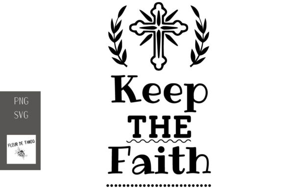 Print on Demand: Keep the Faith Graphic Print Templates By Fleur de Tango
