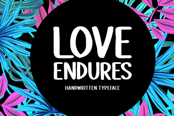 Print on Demand: Love Endures Display Font By Imposing Fonts - Image 1