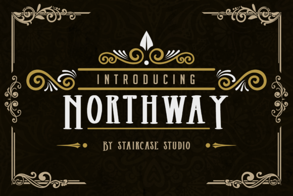 Print on Demand: Northway Serif Font By staircasestudio20