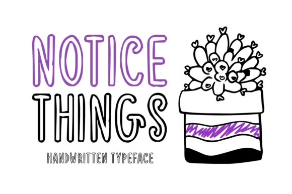 Print on Demand: Notice Things Display Font By Imposing Fonts