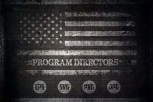 Program Directors - USA Flag Graphic Crafts By Creative Mind
