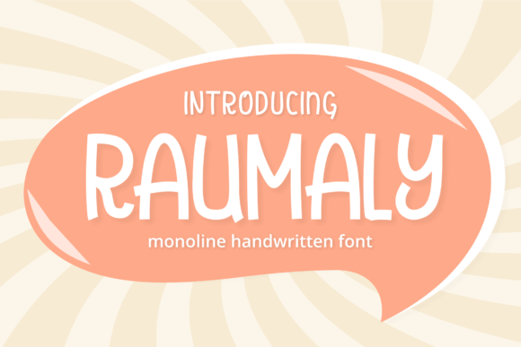 Print on Demand: Raumaly Display Font By Mabhal Studio