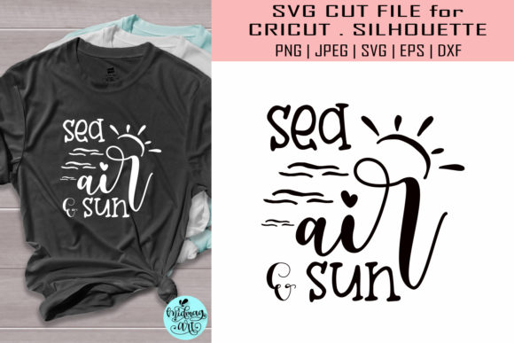 Sea Air and Sun Graphic Objects By MidmagArt
