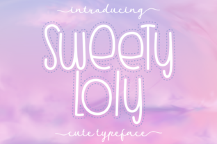 Print on Demand: Sweety Loly Display Font By Dani (7NTypes) 1