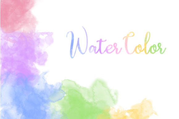 Water Color Background 24 Color Version Graphic Backgrounds By Grapict Studio