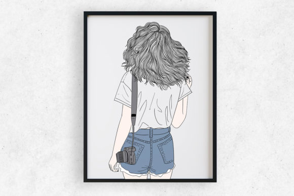 Art Print | Wall Art Female Photographer Graphic