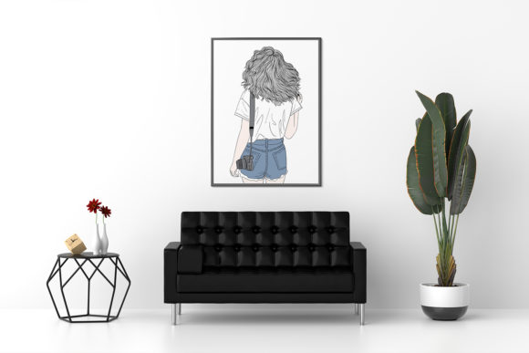 Art Print | Wall Art Female Photographer Graphic Preview