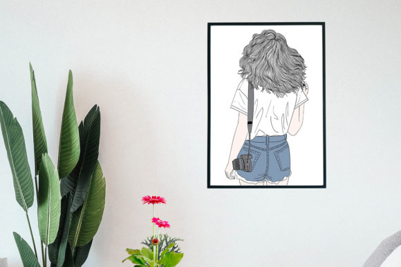 Art Print | Wall Art Female Photographer Graphic Image