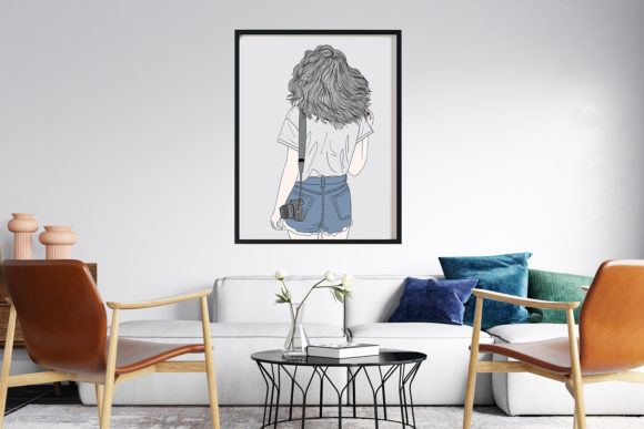 Art Print | Wall Art Female Photographer Graphic Popular Design