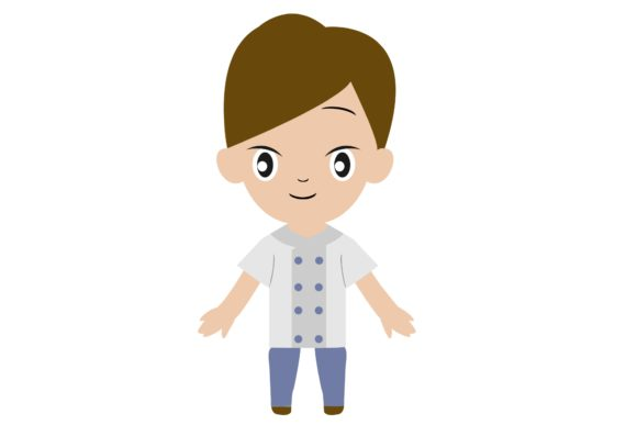 Boy Chibi Character Vector 26 Graphic Illustrations By harunikaart