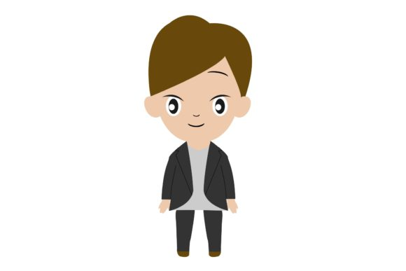 Boy Chibi Character Vector 27 Graphic Illustrations By harunikaart