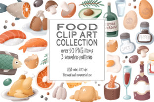 Print on Demand: Food Clip Art Collection Graphic Illustrations By Architekt_AT