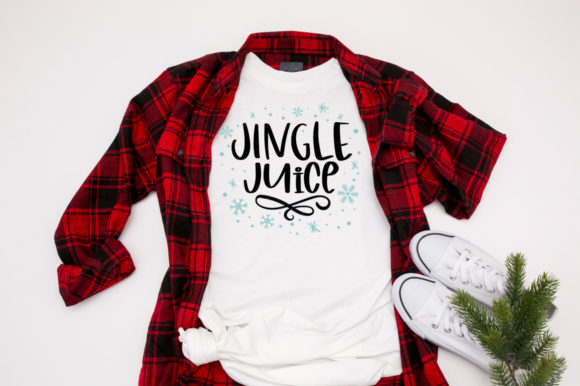 Print on Demand: Funny Christmas SVG - Jingle Juice SVG Graphic Crafts By Simply Cut Co