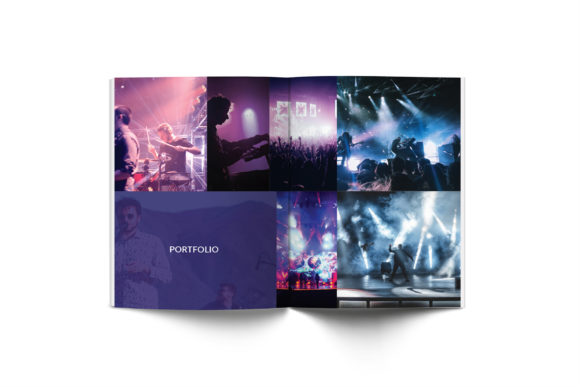 Music A4 Brochure Template Graphic Print Templates By formatikastd