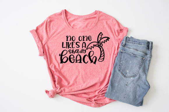 Summer - No One Likes a Shady Beach Graphic Crafts By Simply Cut Co