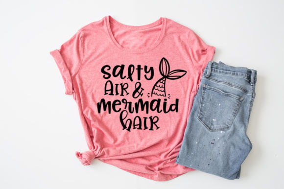 Summertime - Salty Air & Mermaid Hai Graphic Crafts By Simply Cut Co