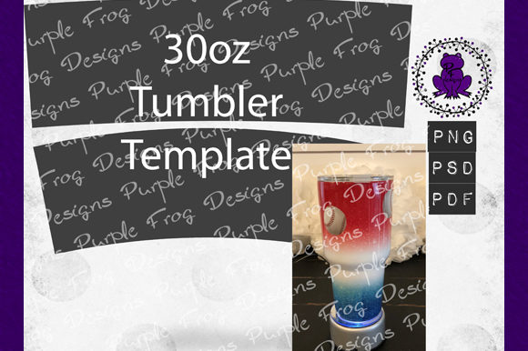 30oz Tumbler Template, 30 Ounce Tumbler Graphic Print Templates By Heather Terry