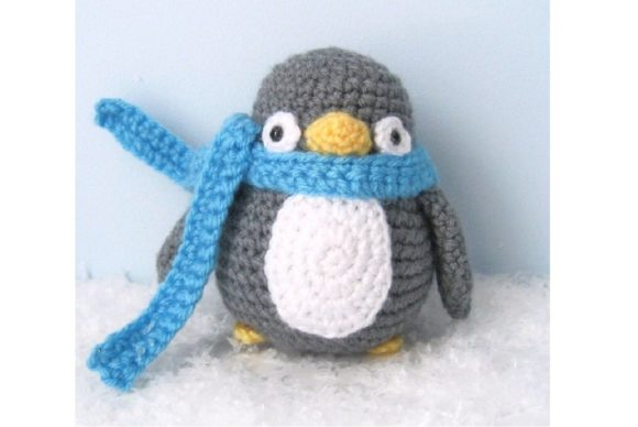 Amigurumi Crochet Penguin Pattern Graphic Crochet Patterns By Amy Gaines Amigurumi Patterns