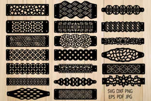 Print on Demand: Bracelets Templates, Leather Bracelets Graphic Crafts By yulnniya