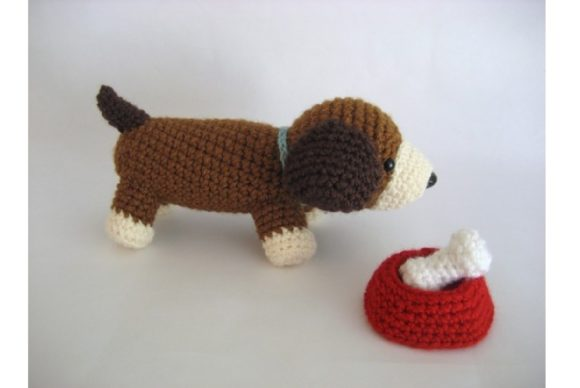 Crochet Puppy Play Set Pattern Graphic Crochet Patterns By Amy Gaines Amigurumi Patterns - Image 1