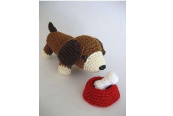 Crochet Puppy Play Set Pattern Graphic Crochet Patterns By Amy Gaines Amigurumi Patterns - Image 2