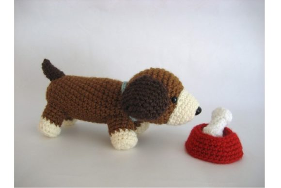 Crochet Puppy Play Set Pattern Graphic Crochet Patterns By Amy Gaines Amigurumi Patterns - Image 4