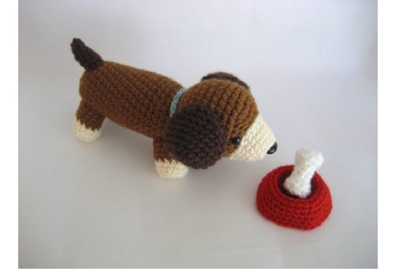 Crochet Puppy Play Set Pattern Graphic Crochet Patterns By Amy Gaines Amigurumi Patterns - Image 5