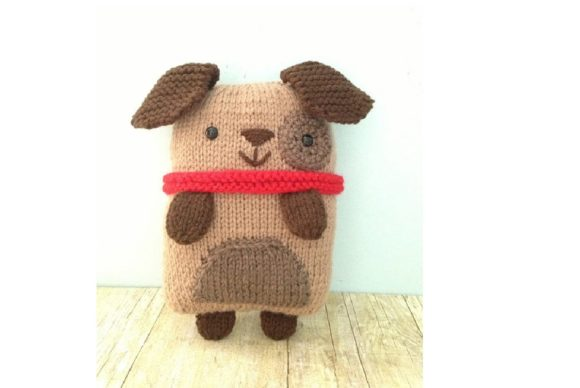 Knit Puppy Pattern Graphic Knitting Patterns By Amy Gaines Amigurumi Patterns - Image 3